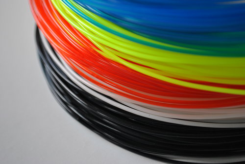 ABS and PLA filament
