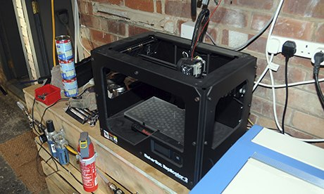 3D printer found by Greater Manchester