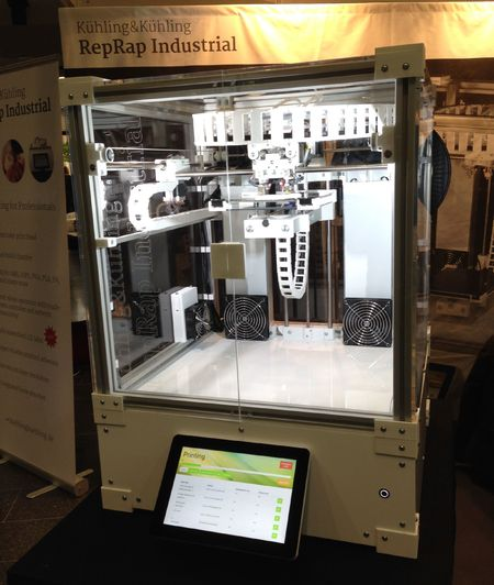 RepRap Industrial 3D printer