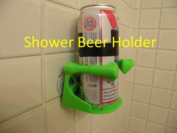 Beer can holder 3D printed