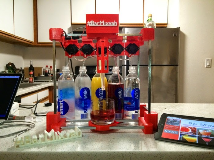 3D printing cocktails