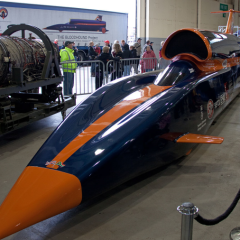 The Bloodhound: How 3D printing could help break the land speed record