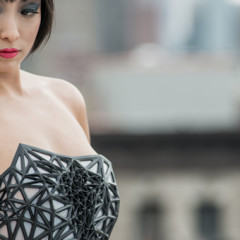 The 3D printed dress that renders you increasingly naked as your personal data is revealed online