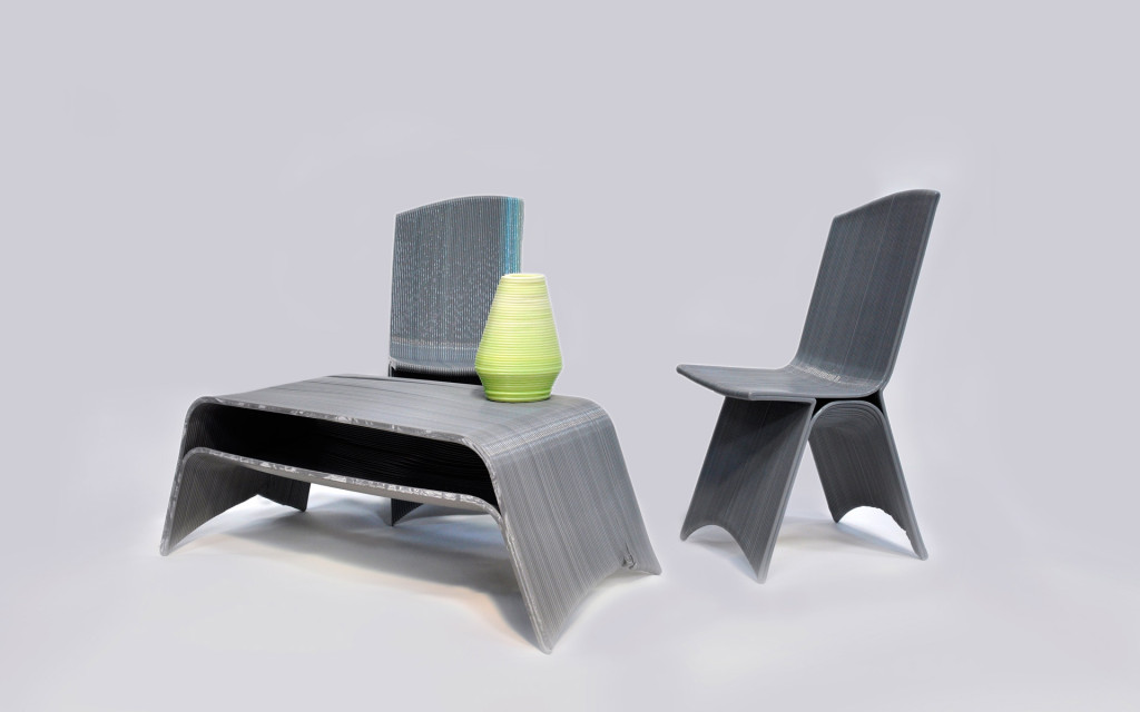 3D printing table and chairs