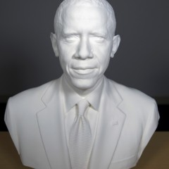 Barack Obama: The first 3D printed president