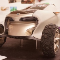 BMW to 3D print a biodegradable, ultra-green concept car in the Serengeti