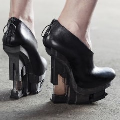 EXCIDIUM: Stunning new 3D printed shoe collection hits Amsterdam Fashion Week