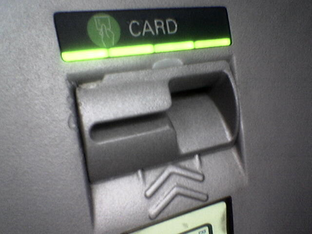 3D printed ATM skimming