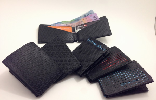 3D printed wallets
