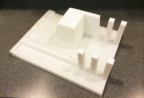 3D printed architecture mould