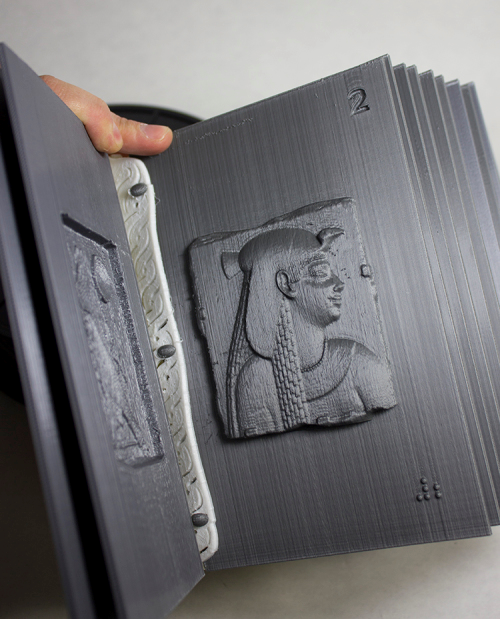 3D printed books