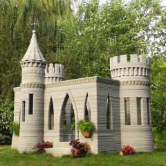 Could this 3D printed mini-castle be a step towards the first American 3D printed house?