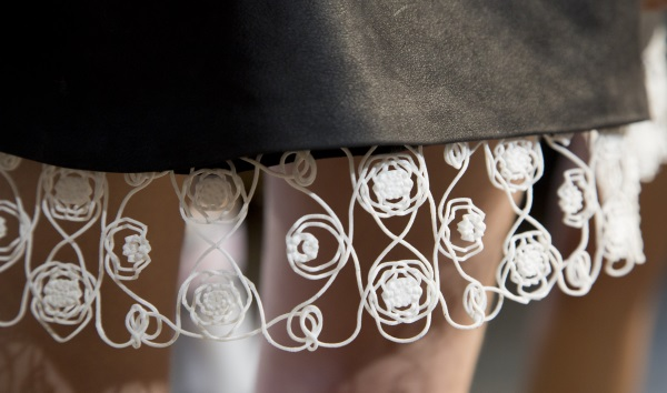 3D printed textiles New York Fashion Week