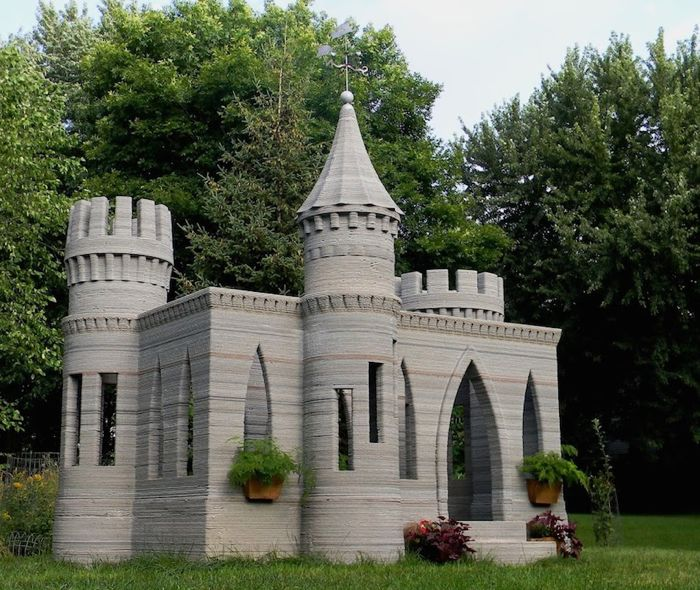 Could This 3D Printed Mini-castle Be A Step Towards The