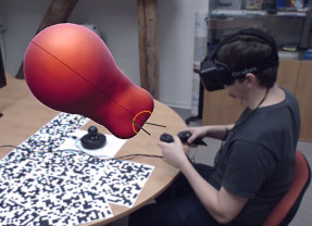 VRClay aims to allow 3D designers to shape models by hand using Oculus Rift and Razer Hydra